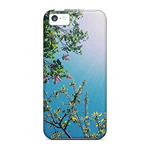 Ultra Slim Fit Hard Jeffrehing Case Cover Specially Made For Iphone 5c- Sunny Day by lolosakes