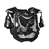 Fox Racing 2020 Women's R3 Roost Deflector (Medium/Large) (Black/Grey)
