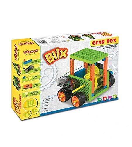 Mechanix Blix Gear Box Construction Set  Multicolour