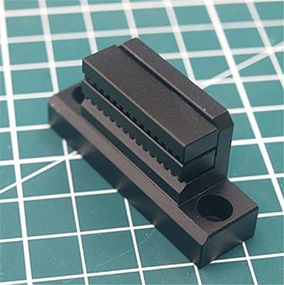 WillBest 1pcs Prusa i3 MK3 Black Anodized Aluminum Alloy Y Belt Holder for Reprap Prusa i3 MK3 3D Printer