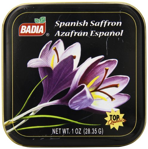 (Badia Spanish Saffron Can, 1 Ounce)