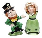 CG 41022 2.5'' Irish Boy & Girl Dancing Figurines with Black Top Hat