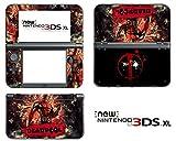 #9: Vanknight Vinyl Decals Skin Sticker Super Hero for the New 3DS XL 2015