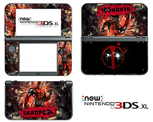 Vanknight Vinyl Decals Skin Sticker Super Hero for the New 3DS XL 2015