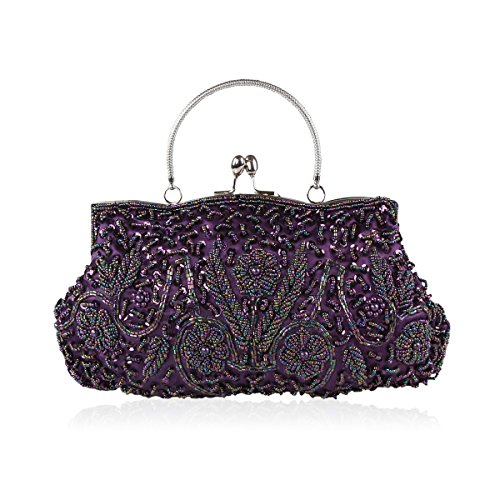 Ideas Purple Handbag Gift Simple Bag Party Price SALE Vogue Evening Various LadyGirl Colors Clutch Piece ON Prom qax4APgw