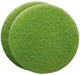 FLEXIS KGS Floor Cleaning & polishing Pads 17 inch, grit 3000 - Green (2 Pack)