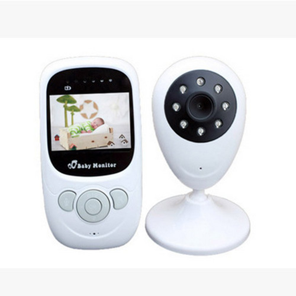 Sealive Baby Monitors HD IP/Network Wireless 2.4GHz Digital Security Video Monitor,Night Vision Temperature Detection,Built-in Lullaby and 2 Way Talk System