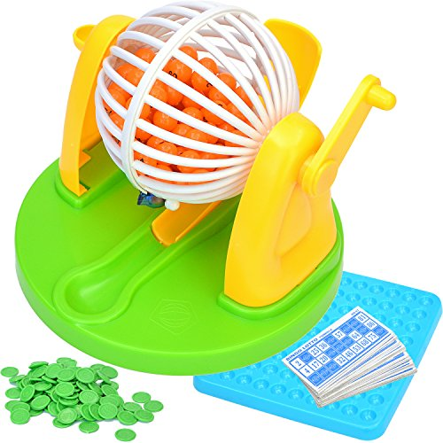 7TECH Bingo Game Supplies Puzzle Desktop Toy