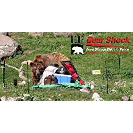 UDAP Bear Shock Portable Electric Food Storage Fence for Bears (mesh / net fence) 90 This Bear Shock Food Fence is approved for food storage Meets USDA Forest Service Recommendations 3 weeks Continual Operation on highest output