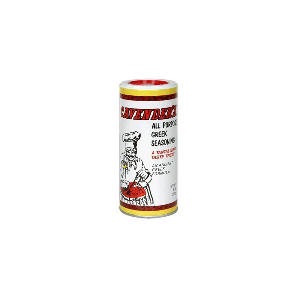 Cavender's All Purpose Greek Seasoning, 2 - 8 oz containers Thank you for your trust in our services