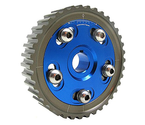 Sol SOHC D16 D15 D13 D Series Engine Adjustable Cam Gear-Blue ()