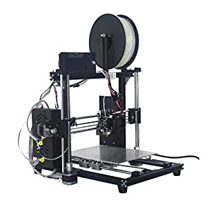 HICTOP 24V Impresora 3D Prusa I3 Auto Nivelación Filamento Monitor Aluminio DIY Kit