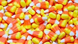 HARD Candy Corn Bulk 2 Pounds In A Resealable Container - Holiday Candy