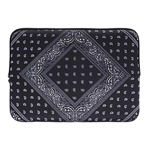 Creative Laptop Bag, Fashion Luxury Design Exquisite Pattern Series Ultra-Thin Waterproof Portable Computer and Tablet Shoulder Bag Messenger Bag for Women and Men, Suitable for Sizes Below 14 Inches ()