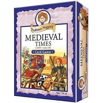 Professor Noggin's Medieval Times - A Educational Trivia Based Card Game For Kids
