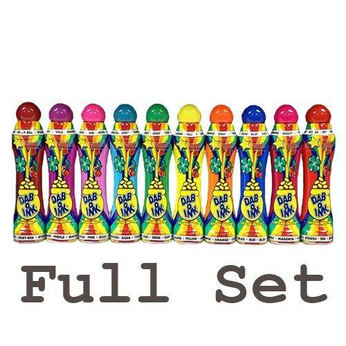113,4 g dab-o-ink Bingo Dauber Full Set (Elf Farben) von Clarence J Venne