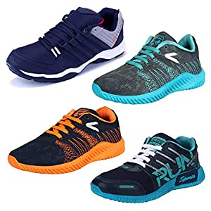 Earton Stylish & Designer Sports Running Shoes for Men Size: 6 (Colour: Multicolor) 181