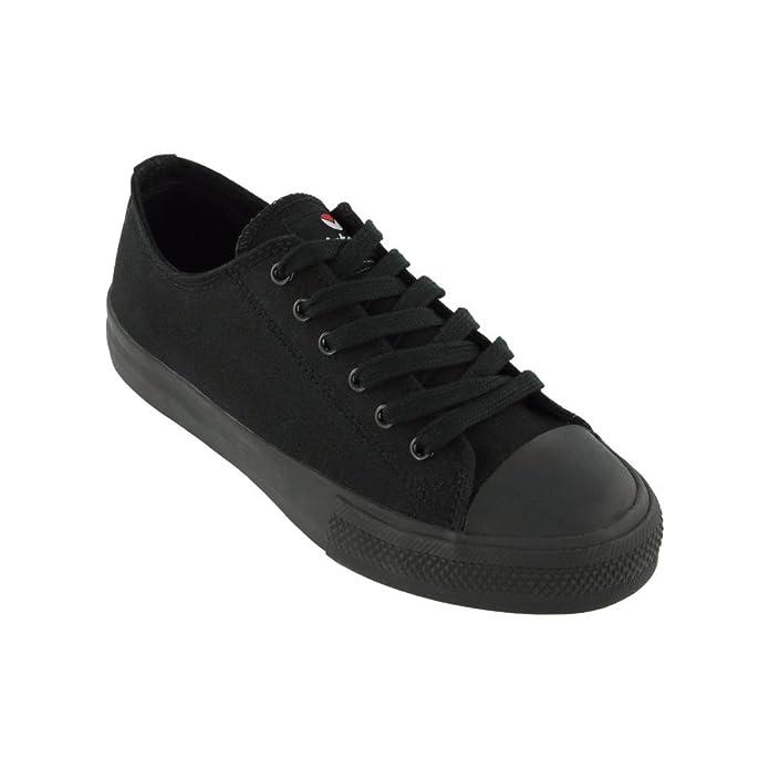06552 Chaussures Victory - Chaussure Noire De Style Unique Panier Noir, Couleur Noir, Taille 36