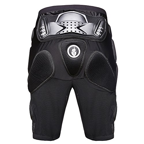Wolfbike Motorcross Racing Ski Armor Pads Sports Protective Pants, Size L