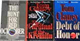 3 Bestselling Thrillers By Tom Clancy: