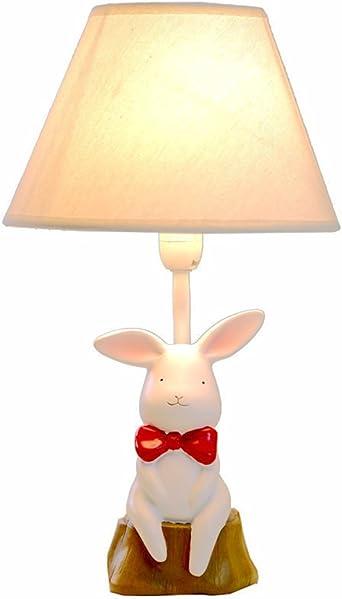 LED gradation lampes de table, garçon fille résine mignon