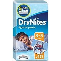 Huggies 3 – 5 yıl Drynites absorbe edici Nachthoeschen Erkek çocuklar için 10 Pro Pack