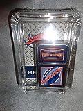 Denver Broncos Oil Lighter and Ashtray Gift Set