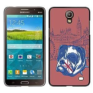 // PHONE CASE GIFT // Duro Estuche protector PC Cáscara Plástico Carcasa Funda Hard Protective Case for Samsung Galaxy Mega 2 / The English Bulldog - UK /