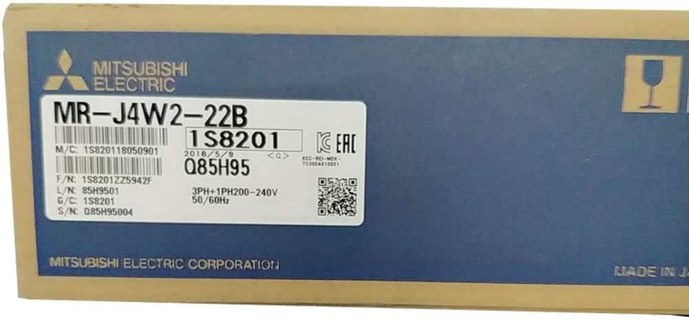 産業用サーボアンプ MR-J4W2-22B SSCNETIII/H対応 0.2kW用 三相または単相AC200V 240V