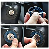 Car Lgnition Switch Sticker Luminous Auto Car
