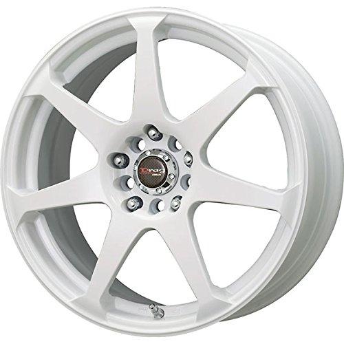 Drag Wheels DR-33 17x7.5/ 5x100/ 5x114.3 White Full rims Drag Dr 33 Wheels