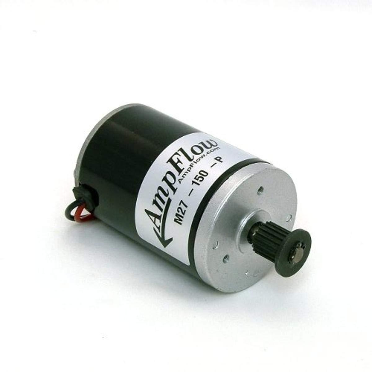 AmpFlow M27-150-P Brushed Electric Motor, 150W, 12V, 24V or 36 VDC, 3800 RPM