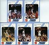 1989 UNC University of North Carolina Michael Jordan 5 Card College Rookie Set Mint Condition!
