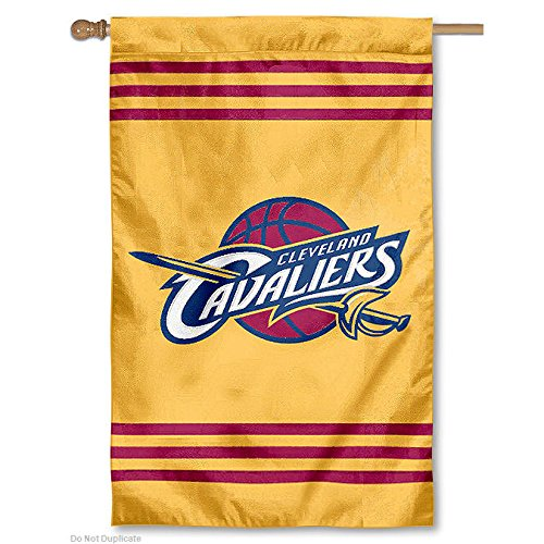 """Party Animal NBA Sports Team Logo Cleveland Cavaliers Applique Banner Flag 44"""" x 28"""""""