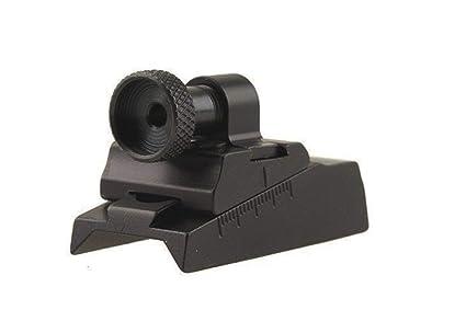 Williams WGRS-CVA Guide Receiver Peep Sight CVA Rifles with Octagon Barrel  or Receiver Aluminum Black