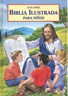 La biblia ilustrada la historia sagrada en laminas spanish edition biblia ilustrada para ninos spanish edition fandeluxe Images
