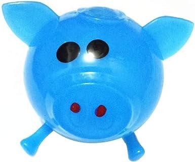 Juguete de la Descompresión,JiaMeng 1 Unids Jello Pig Cute Anti ...