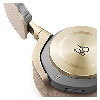 B&O PLAY by Bang & Olufsen Beoplay H8 Wireless On-Ear Headphone with Active Noise Cancelling, Bluetooth 4.2 (Argilla Bright) (Certified Refurbished)