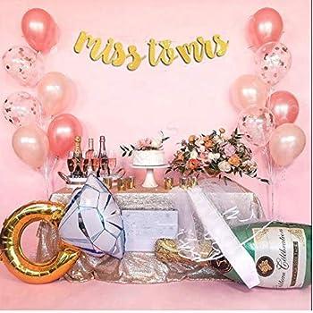 Amazon.com: Bachelorette Party Decorations Kit Rose Gold