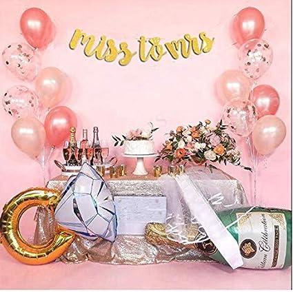 59d0f69f1913 Amazon.com  S2 Shoppe Bachelorette Party Decorations Kit