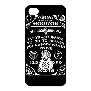 Danny Store 2015 New Arrival Protective Rubber Cover Case for iPhone 4,iPhone 4s Cases - Bring Me The Horizon by icecream design