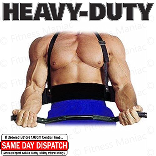 FITNESS MANIAC Heavy Duty New Arm Blaster Isolator Bodybuilding Bomber Curl Bicep Triceps Black Arm Machines US Seller (Shipping from USA)