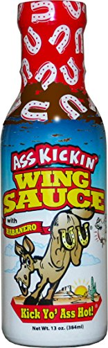 Ass Kickin Chickin Wing Sauce - Beats the original Buffalo wing sauces by a m... - Kickin Wing Sauce