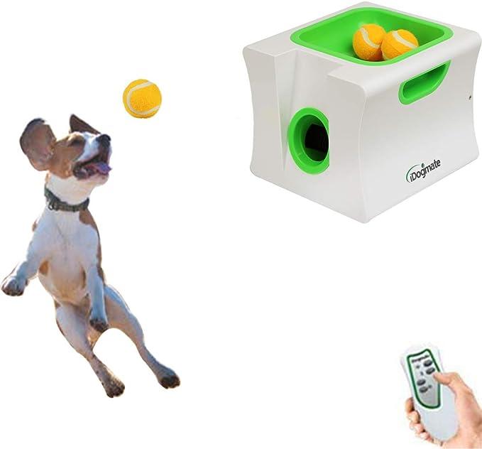 DaMohony Lanzadores de Bolas Interactivos para Perros Lanzador de ...