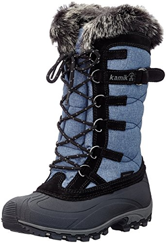 Kamik Women's Snowvalley Snow Boot, Blue Jeans, 9 D US different siz