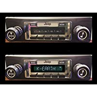 1978-1986 Jeep CJ & Scrambler High Power 300 watt AM FM Car Stereo/Radio with iPod Docking Cable