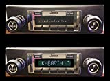 1978-1986 Jeep CJ & Scrambler High Power 300 watt AM FM Car Stereo/Radio with iPod Docking Cable