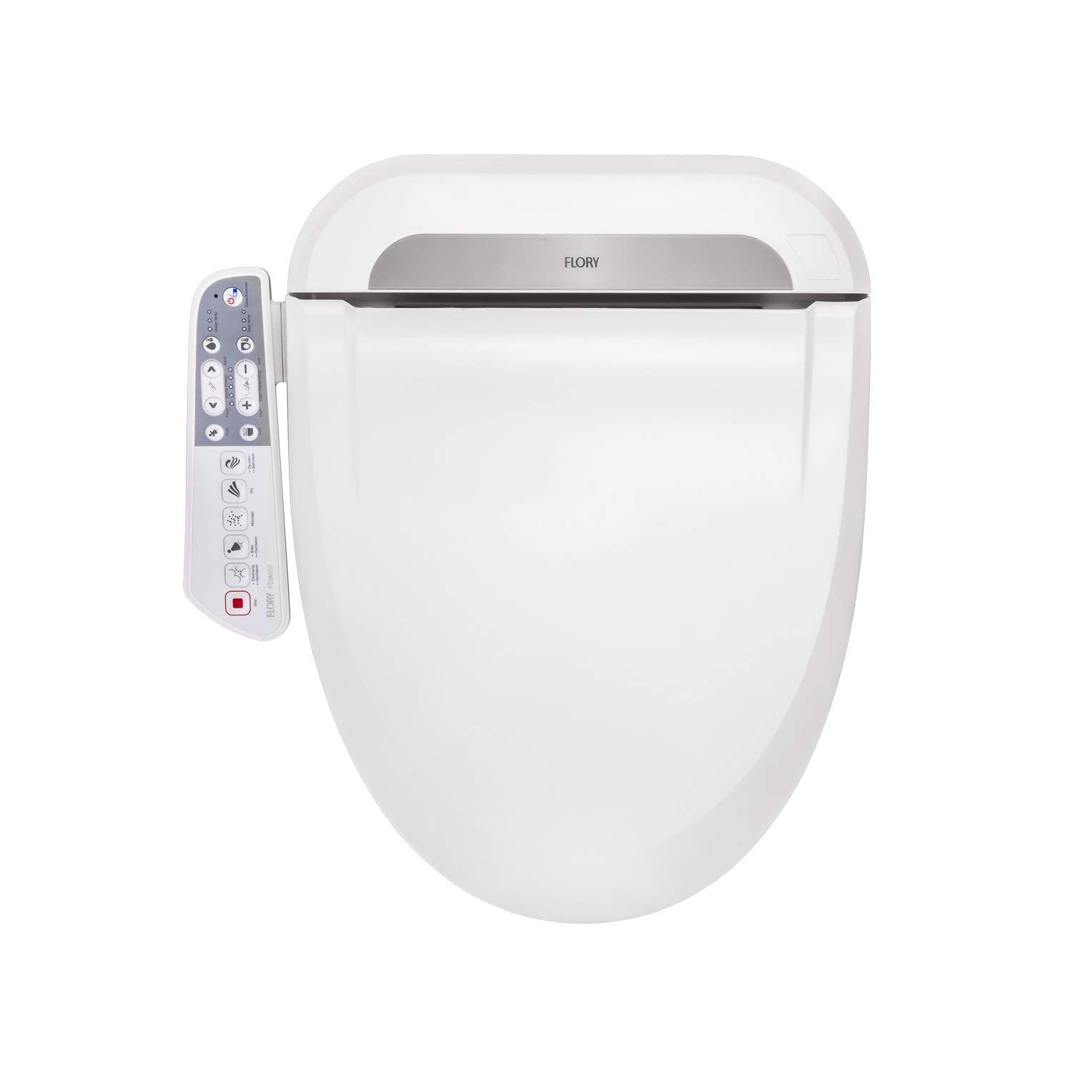Amazing Aquatrend Advanced Electric Smart Bidet Toilet Seat Self Cleaning Dual Nozzles Rear Cleaning Heated Toilet Seat With Warm Water Air Dryer Lamtechconsult Wood Chair Design Ideas Lamtechconsultcom