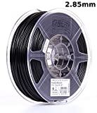 eSUN 3mm Black PLA PRO (PLA+) 3D Printer Filament 1KG Spool (2.2lbs), Actual Diameter 2.85mm +/- 0.05mm, Black