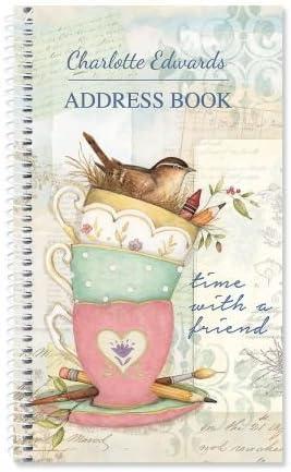 Contacts Book Address Book Telephone and Address book Chalkboard Confetti Personalized Address Book Custom Address Book